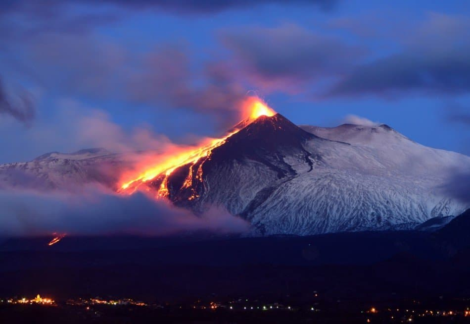 The 10 Most Active Volcanoes In The World