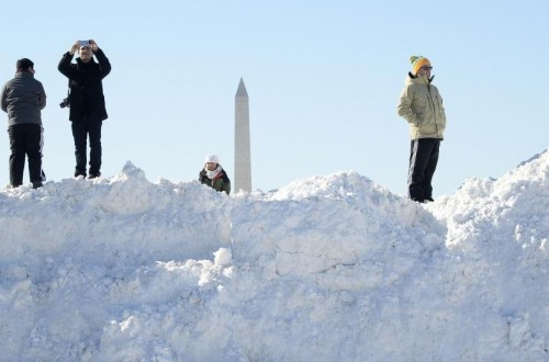 10 Amazing Photos Showing Winter Storm Jonas Aftermath