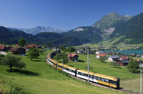 10 Of The Most Scenic Train Routes In The World