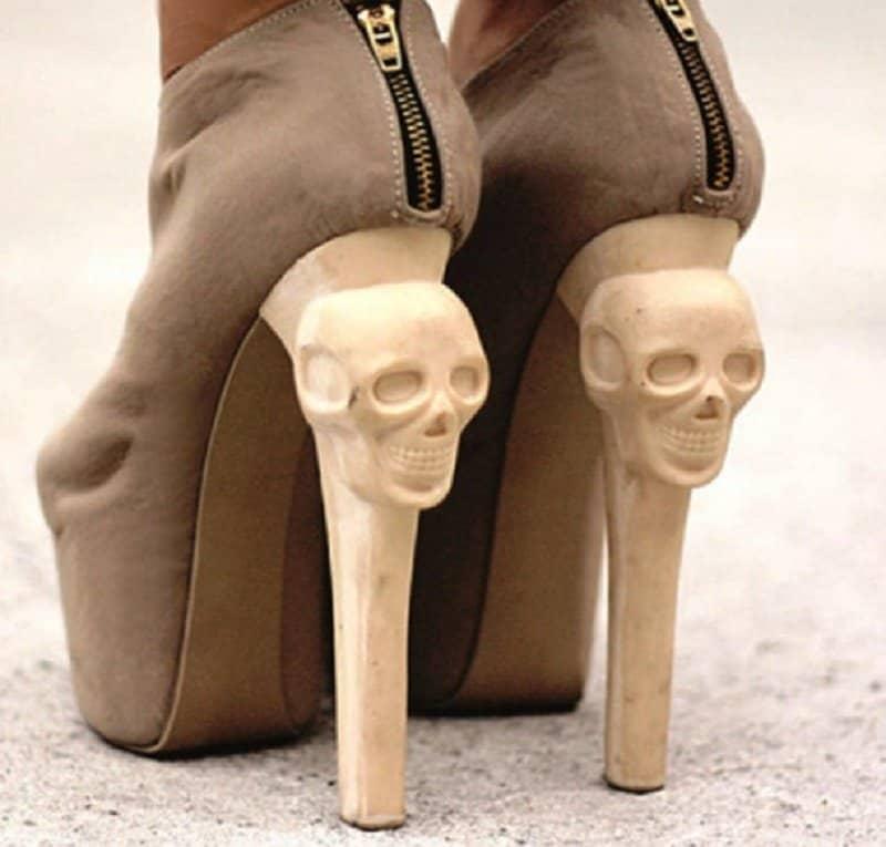 10 Of The Strangest High Heel Designs