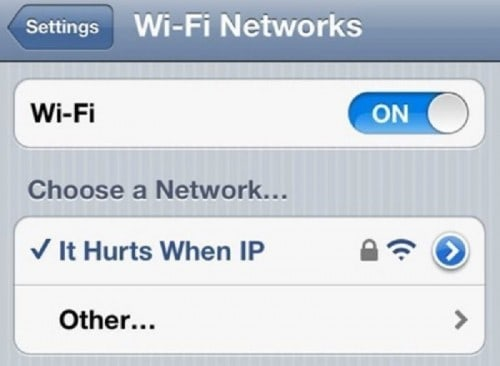 10 Most Creative Wi-Fi Connection Names