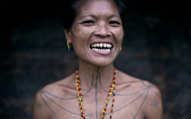 Beautiful Perceptions Of Beauty Are Also Based On Cultural Beliefs. In Indonesia, The  Mentawai Tribe Perceive Razor Sharp, Dagger Like Teeth As Sexy. Women In  The ...