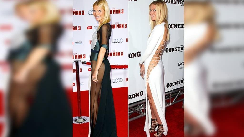 commando celebrities carpet went paltrow gwyneth