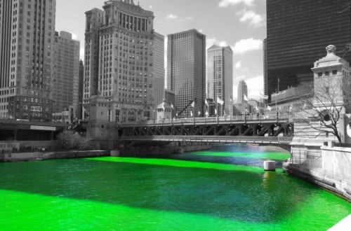 10 Beautiful Tourist Destinations That Turn Green On St. Patrick's Day