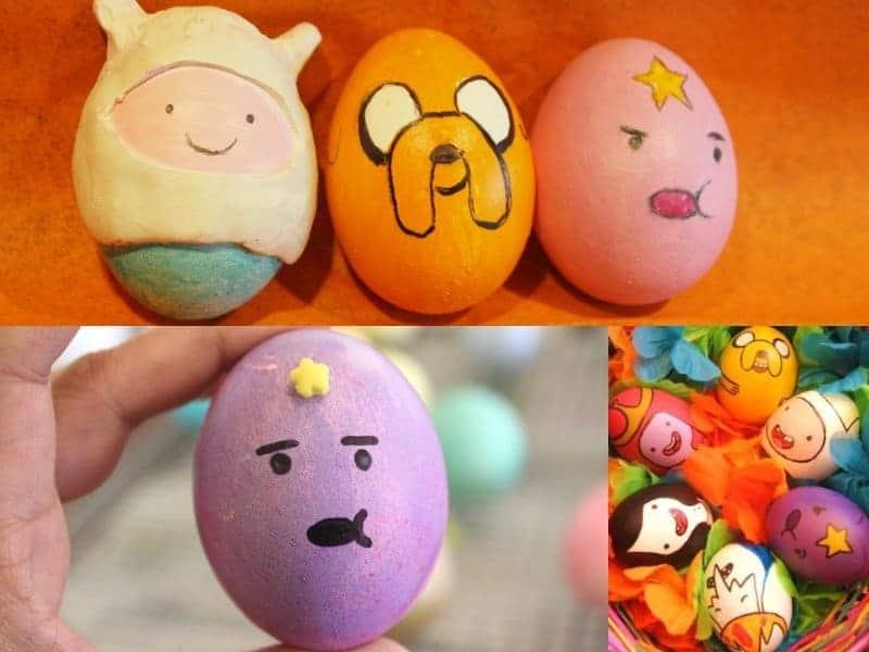 10 Cool Pop Culture Inspired Easter Egg Designs