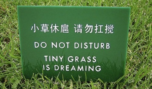 10 Funny Mistranslations On Public Signs