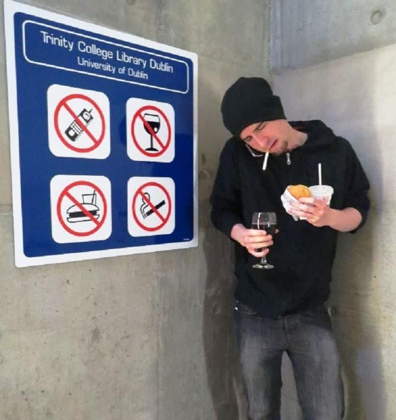 The Biggest Mistake S You Re Probably Making In Your: 10 Hilarious Pictures Of People Being Rebellious