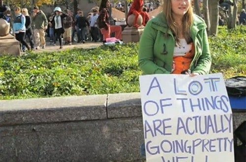 10 Hilarious Signs Made By Protesters