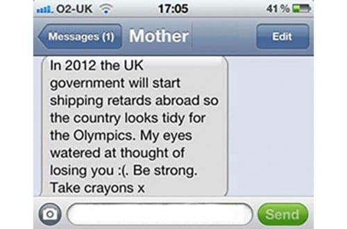 10 Of The Funniest Texts From Parents