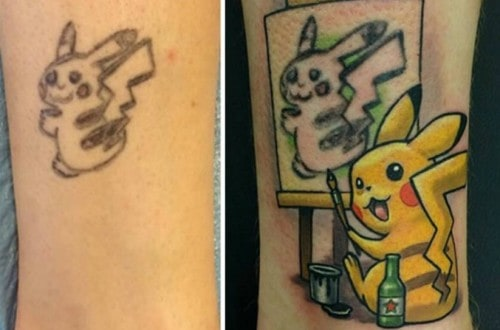 10 Awesome And Creative Cover-Up Tattoos