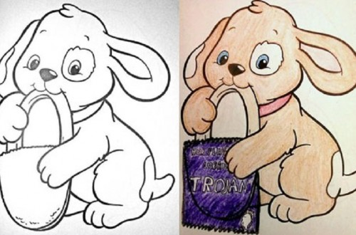 10 Funny And Shocking Colorbook Corrections
