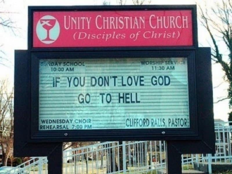 10 Funny Signs Proving God Has A Sense of Humor