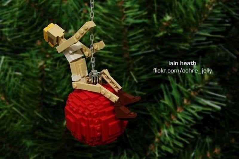 Miley Cyrus Wrecking Ball Christmas Ornament.10 Moments Of Pop Culture Recreated In Lego