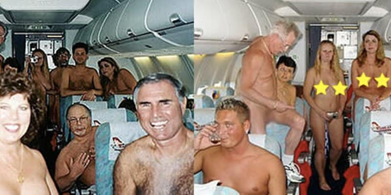 Germany airline nude flights