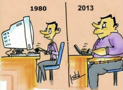 10 Funny Illustrations Showing How Times Have Changed