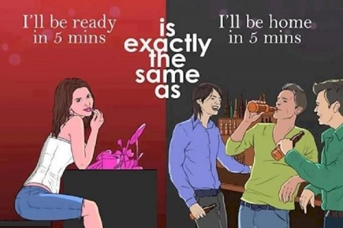 10 Hilarious Differences Between Men And Women