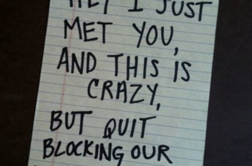 10 Hilarious Notes From Strangers