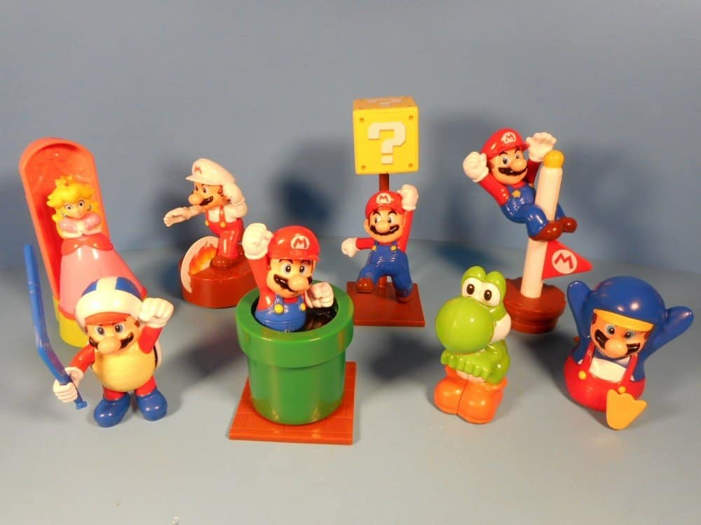 There Are Six Toys That Are Variations Of Mario With The Other Two Being Peach And Yoshi