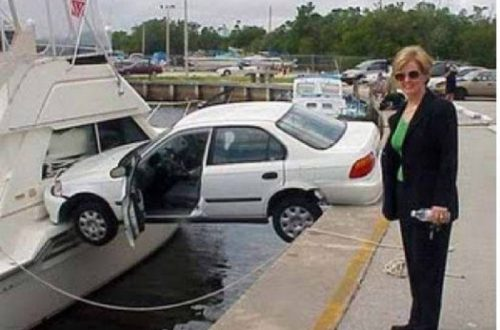 10 Of The Funniest Driving Fails