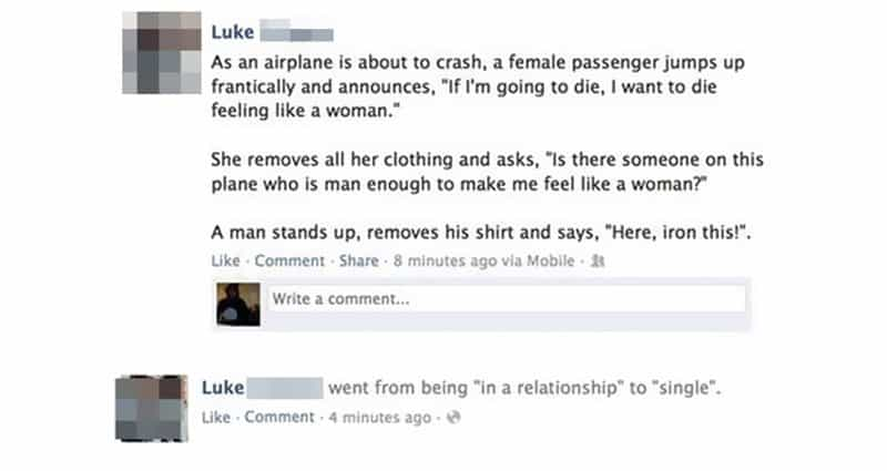 10 Of The Funniest Facebook Posts You Ll Ever See