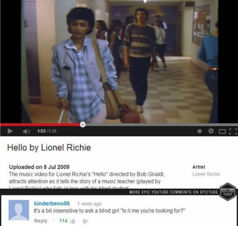 10 Of The Funniest YouTube Comments Ever