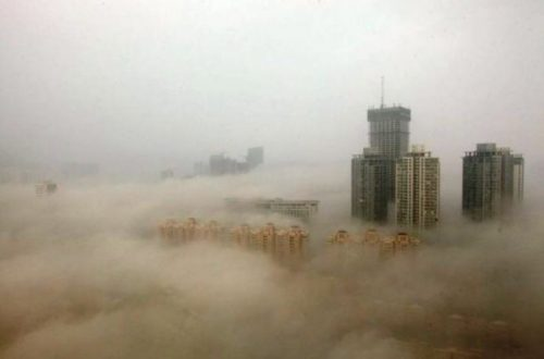 10 Shocking Images Showing The Extent Of China's Pollution Problem