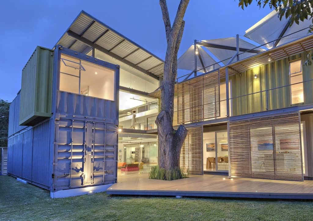 10 Stunning Homes You Won't Believe Are Made From Shipping