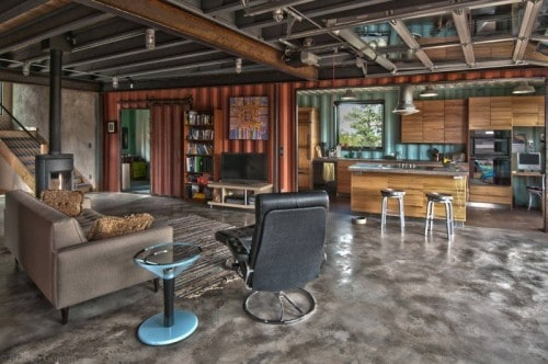 10 Stunning Homes You Won't Believe Are Made From Shipping Containers