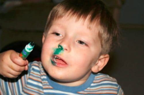 10 Reasons Why Children And Markers Isn't A Good Combination