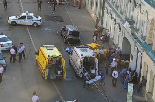 Taxi Driver Mows Down 15 People In Moscow During World Cup