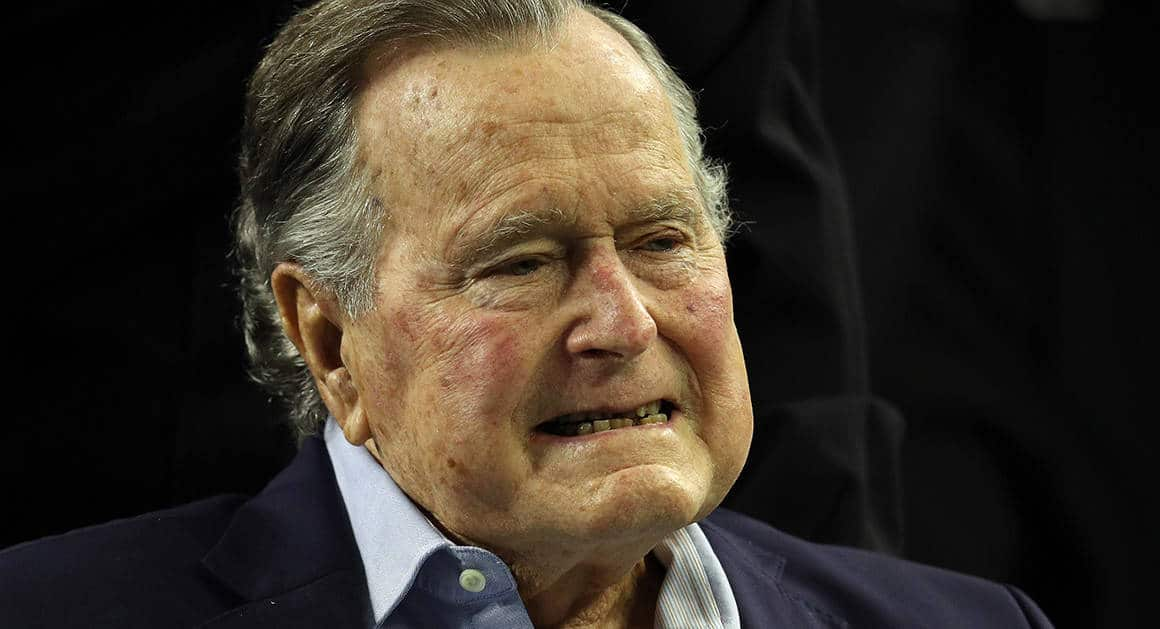 George H.W. Bush First President To Reach 94 Years Old
