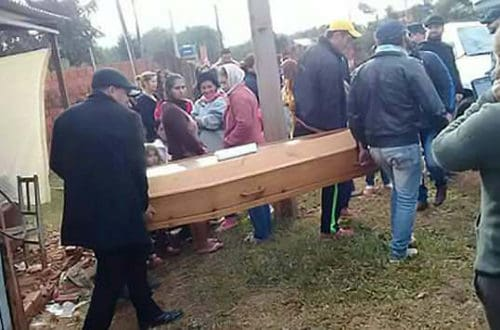 Man Returns Home And Surprises His Family At His Funeral