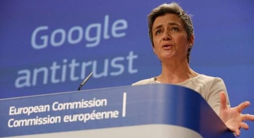 European Commission Fines Google $5 Billion