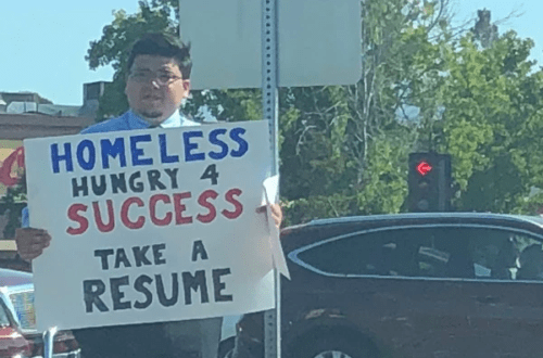 Homeless Guy Approached By Google After He Goes Viral