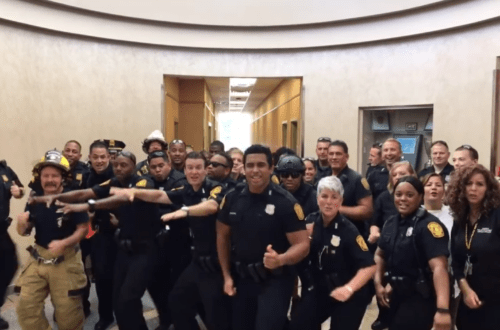 Norfolk Police Department Release Incredible Lip Sync Video